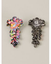 Tom Binns | Multicolor 'midnight Riot' Earrings | Lyst