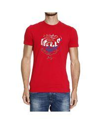 Iceberg | Red T-shirt for Men | Lyst