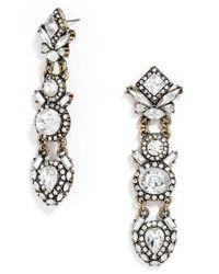 BaubleBar | Metallic Shard Stud Earrings, Set Of 2 | Lyst