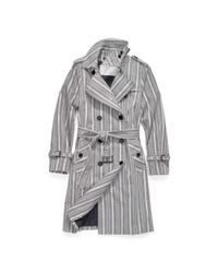 COACH - Multicolor Heritage Stripe Trench - Lyst