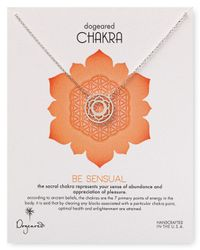 Dogeared - Metallic Be Sensual Chakra Necklace 18 - Lyst