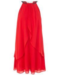 Coast Red Marley Dress
