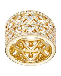Swarovski | Metallic Dazzling Ring | Lyst