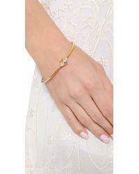 Gorjana - Metallic Blakely Crest Cuff Bracelet - Gold - Lyst