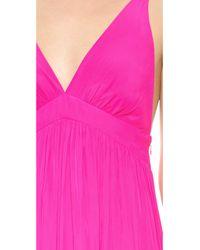 Ramy Brook Pink Sadie Maxi Dress