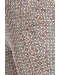 Paul & Joe - Blue Jacquard Print Straight Pants - Lyst