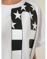 Love Moschino | White Oversized Love Print T-shirt Dress | Lyst