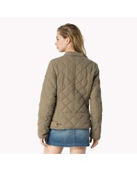 Tommy Hilfiger | Natural Down Quilted Jacket | Lyst
