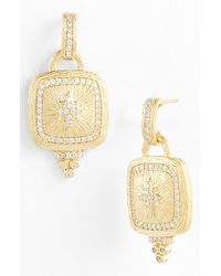 Freida Rothman | Metallic 'metropolitan' Star Drop Earrings | Lyst