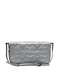 Marc By Marc Jacobs - Metallic Monica Cross-body Bag - Silver - Lyst