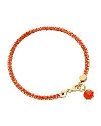 Astley Clarke | Pink Rebel Rebel Bracelet With Coral | Lyst