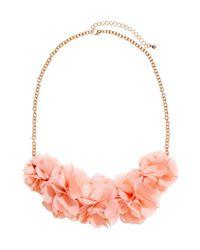 H&M Pink Flower Necklace