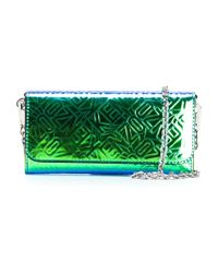 KENZO - Green Textured Crossbody Bag - Lyst