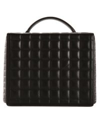 Mark Cross - Black Large Quilted 'grace' Shoulder Bag - Lyst