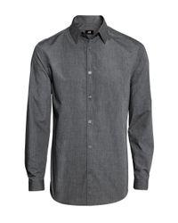 H&M | Gray Shirt Easy Iron for Men | Lyst