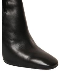 Emilio Pucci | Black 120mm Stretch Nappa Leather Boots | Lyst