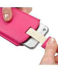 Aspinal Pink Iphone 5 Sleeve