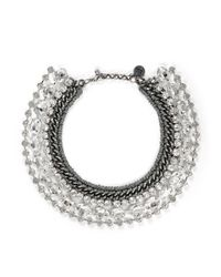 Venessa Arizaga | Metallic 'disco Queen' Necklace | Lyst