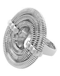Lara Bohinc - Metallic Apollo Ring - Lyst