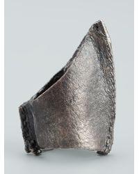 Alice Waese | Metallic Tall Cast Ring for Men | Lyst