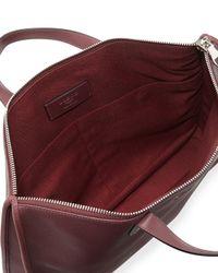 Loewe Purple Toledo Leather Briefcase