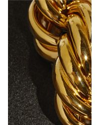 Adam Lippes Black Chain-Embellished Duchesse-Satin Top