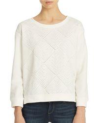 Sanctuary - White Diamond Dreamer Sweater - Lyst