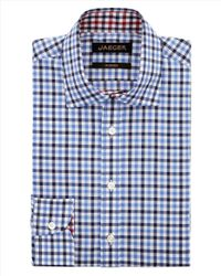 Jaeger | White Bright Gingham Modern Shirt for Men | Lyst