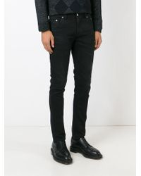 Dondup - Black 'ramones' Jeans for Men - Lyst