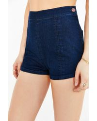 BDG Blue Dolphin Pin-up Short