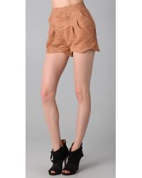 Finders Keepers - Brown Drive By Shorts - Lyst