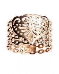 Only Noa Chez Carré Y. | Metallic Telma Ring | Lyst