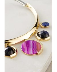 Sarah Magid | Purple Orphism Collar | Lyst