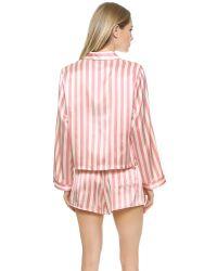 Morgan Lane - Pink Ruthie Pj Top - Candy - Lyst