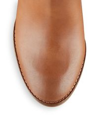 Lucky Brand | Brown Ubiza Leather Ankle Boots | Lyst