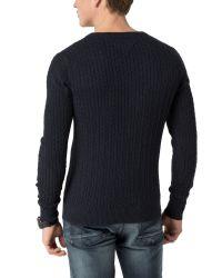 Tommy Hilfiger - Black Gilles Sweater for Men - Lyst