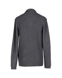 Paolo Pecora Gray Cardigan for men