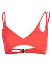 Araks Red 'Elias' Bikini Top