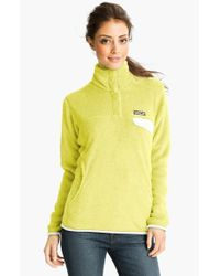 Patagonia | Yellow 're-tool' Snap Pullover | Lyst