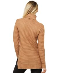 Akira Black Label - Natural The Outcome Ribbed Sweater - Camel - Lyst