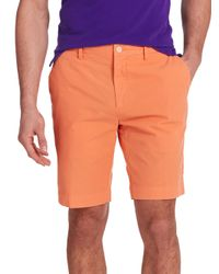 Polo Ralph Lauren - Orange Straight-fit Newport Shorts for Men - Lyst