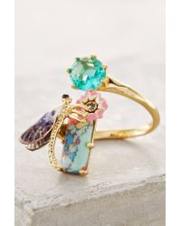 Les Nereides | Metallic Dragonfly Alight Ring | Lyst
