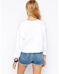 ASOS - Blue The Ultimate Sweatshirt With Pocket - Lyst