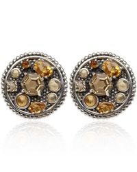 Stephen Dweck | Metallic Silver Citrine Clipon Earrings | Lyst