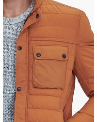 Banana Republic | Orange Primaloft Shirt Jacket for Men | Lyst