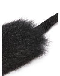'S Max Mara   Black Susanna Fur Cuffs   Lyst