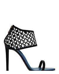 Vionnet - Black High Heeled Sandal - Lyst