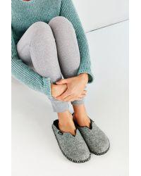 Woolrich - Gray Felt Mill Scuff Slipper - Lyst