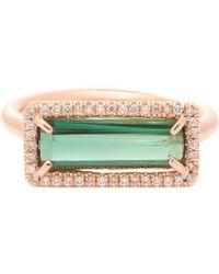 Irene Neuwirth - Pink Diamond, Tourmaline & Rose Gold Ring - Lyst