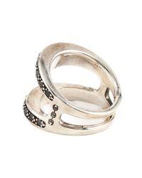 Hoorsenbuhs | Metallic Masque Diamond Ring | Lyst